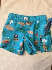 NWT- Infant Boys Wave Zone Swim Trunks-Size 0-3 Months