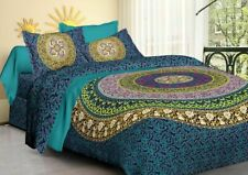 Indian Bedding Set Mandala Bohemian Quilt Duvet Cover Super king Size Comforter