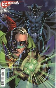 INFINITE FRONTIER #1 COVER B BRYAN HITCH CARD STOCK VARIANT VF/NM 2021 DC HOHC