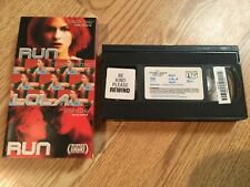 Run Lola Run 1998 Vhs Tape, Franka Potente, Tom Tykwer German Foreign, Ex Rental