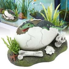 Aquarium Fish Tank Ornament Air Drive Decoration Landscaping Decor Egg