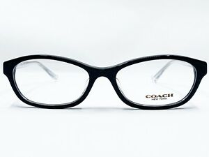 NEW COACH HC6080D 5327 BLACK GLITTER CRYSTAL AUTHENTIC EYEGLASSES RX 54-16-135