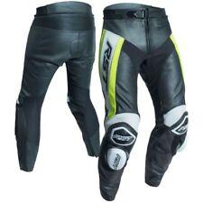 Pantalones amarillos de rodilla para motoristas