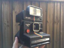 Vintage Polaroid OneStep Plus Camera & Q-Light Flash