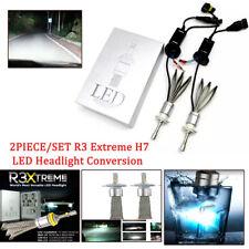 R3 Extreme H7 LED Headlight Conversion 6000K Kit 80w 9600 Lumens CANbus  Cree