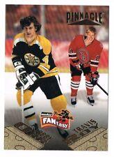 1995-96 Pinnacle FANtasy #31 Travis Roy / Bobby Orr !! SP