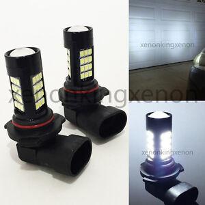 9006-HB4 Samsung LED 42 SMD White 6000K Headlight 2x Light Bulbs #x4 Low Beam