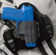 Sig Sauer SigPro 2022 Black Leather Kydex Hybrid Gun Holster IWB Tuck