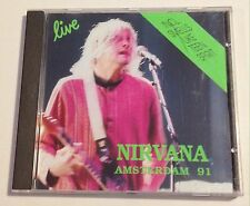 Nirvana Rare Live CD Amsterdam 91 made by Stentor