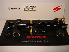 SPARK RENAULT SPORT FORMULA ONE TEAM R.S. 16 WINTER TEST 2016 au 1/43°