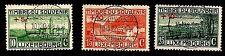LUXEMBOURG. Semi-Postal. World War I. 1921 Scott B1-B3. Canceled. (BI#14)