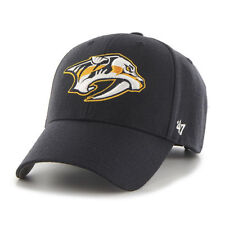 NHL Nashville Predators Cap Basecap 47Brand adjustable Baseballcap MVP Wool navy