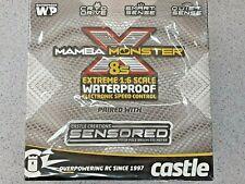 Castle Creations Mamba Monster X 8S 1/6 ESC/Motor Combo w/2028 Sensored Motor