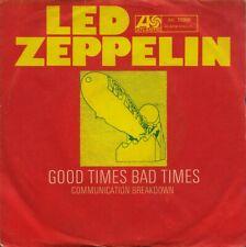 "LED ZEPPELIN: Good Times, Bad Times (´69 / scarce orig. German 7"")"