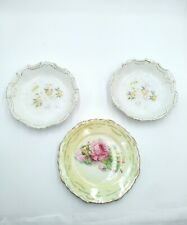 """Mixed lot of (3) Vintage dishes """"No Names on Items"""""""