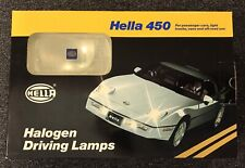 HELLA 450 HALOGEN DRIVING LAMPS 73109 WHITE LIGHT NEW OLD STOCK