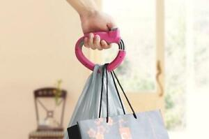 Easy shopping One Trip Handle Easy Grip Grocery Bag Holder Handle Grips Lock
