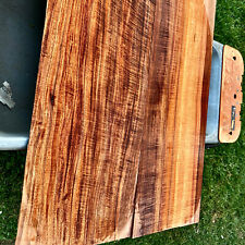INSANELY RARE 5/16 x 24x32 Quartersawn Flamed Hawaiian KOA 2 Pc Explorer top