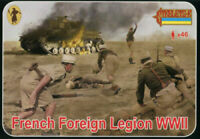 Strelets 187 - 1/72 French Foreign Legion WWII, scale plastic model kit