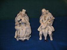 Figuren aus Porzellan eines Pärchens im Stil des 18. Jahrhunderts, Marke N