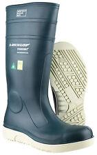 Dunlop Blue Purofort E262673 Comfort Grip Safety Waterproof Wellington BOOTS 44
