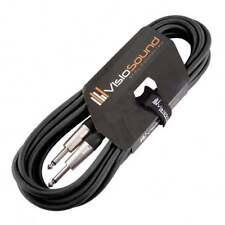 Câbles et connecteurs d'équipement audio professionnel pour instrument