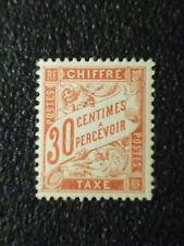 France 1895 30c vermilion Postage Due vf MINT never hinged SG D303 c.v. £1000