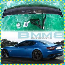 New Carbon Fiber Maserati Gran Turismo Trunk Boot Spoiler Coupe 2D V Style 09-14
