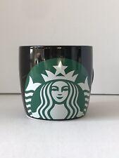 Starbucks Coffee MUG 2018 Holiday Black With Green Logo 14 oz