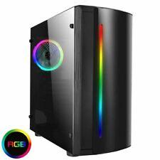 PC RGB-ryzen 5 3600 16Gb 256 nvme GTX1660 GPU 1TB-UK STOCK-STESSO GIORNO POST