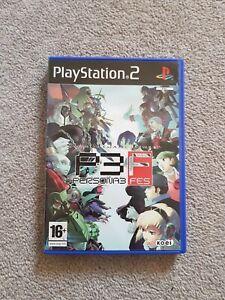 Persona 3 FES PS2 PAL - RARE