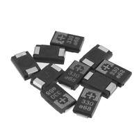 10 Pcs SMD Tantalum Polymer Capacitors 2R5TPE330M9 2.5V 330UF POSCAP Polymer