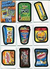 Wacky Packages Ans 9 All New Series 9 2012 Topps 55 Card Complete Set + Wrapper