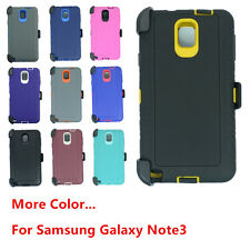 For Samsung Galaxy Note 3 Defender Case Cover w/(Belt Holster Clip fit Otterbox)