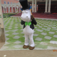 2018 Cosplay Horse Costume Animal Parade Mascot Suit Bithday Party Dress Outfit