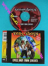 CD singolo Vengaboys Uncle John From Jamaica 7243 8 88860 0 0 no lp mc vhs(S30)