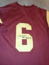 Cody Kessler USC Southern California Trojans Signed Red Jersey Cleveland Browns