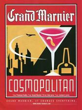 "1999 GRAND MARNIER MAGAZINE PRINT AD ""GRAND MARNIER CHANGES EVERYTHING"" BAR ART"