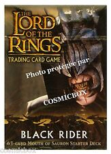 deck LORD of the RINGS starter BLACK RIDER - MOUTH of SAURON 63 cards cartes NEW
