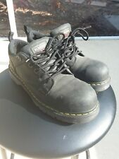 Dr. Martens Men's Ashridge Black Steel Toe Industrial Work Shoe Men sz 11