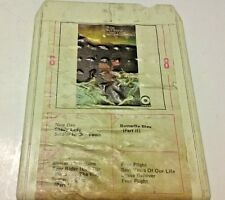 IRON BUTTERFLY W/ PINERA AND RHINO  Metamorphosis  8 Track Tape  Tested