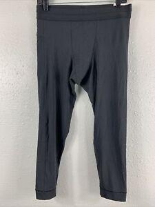Nike Yoga Infinalon Dri-FIT 3/4 Tights Black Men's CT1830-010 NWT