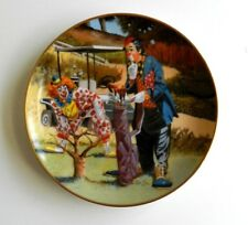 RON LEE CLOWNING AROUND COLLECTION LIMITED EDITION #42 GOLF COURSE CLOWNS PLATE