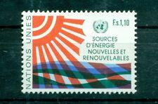 """Nations Unies Géneve  1981 - Michel n. 100 - """"Sources d'énergie nouvelles et ren"""