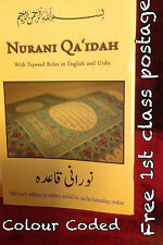 NURANI NOORANI QAIDAH QAIDA, COLOUR CODED ARABIC ALPHABET BOOK 4 YOUNG CHILDREN
