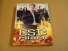 3-DISC DVD BOX / CSI:MIAMI - SEIZOEN 3 - AFLEVERING 3.13 - 3.24