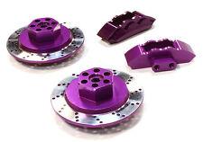 C26454PURPLE Integy Model Alloy Front Brake Hex Hub Set for HPI 1/10 Scale E10