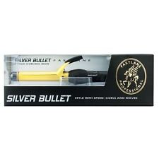 Silver Bullet Fastlane Gold Ceramic 25mm Curling Iron Silverbullet Free postage
