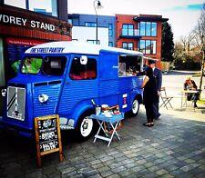 Vintage Citroen H van - mobile coffee catering van