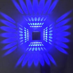 3W Cube Box LED Wall Lamp Ceiling Light Fixture Bedroom Disco Lobby Hallway Bar